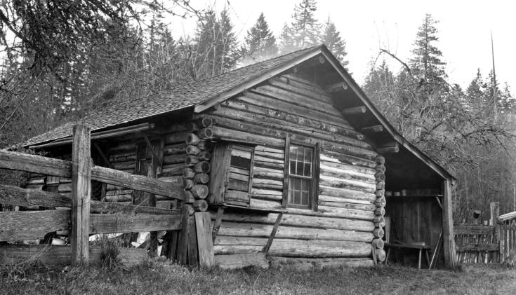 Bengston cabin - then